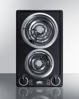 CCE226BL Electric Cooktop Front