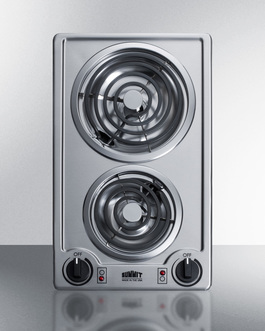 CCE227SS Electric Cooktop Front