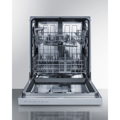 DW2435SSADA Dishwasher Open