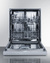 DW2435SS Dishwasher Open