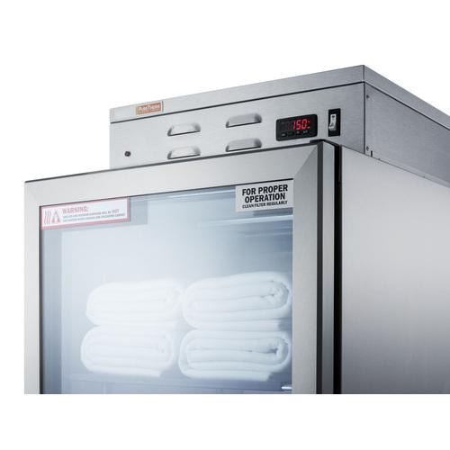 PHC101GCSS Warming Cabinet Detail