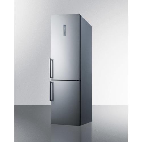 FFBF192SSIM Refrigerator Freezer Angle