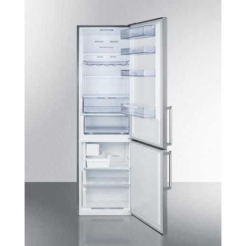 FFBF192SSIM Refrigerator Freezer Open