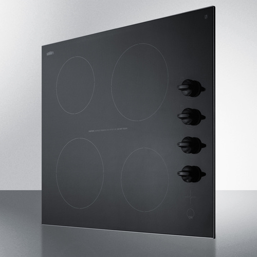 CR4B242BL Electric Cooktop Angle