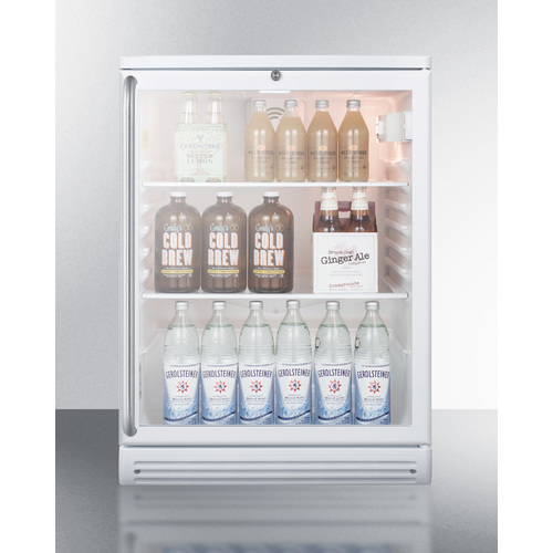 SCR600GLBISH Refrigerator Full