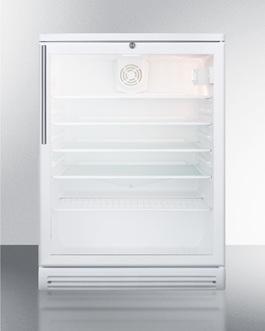SCR600GLBIHV Refrigerator Front