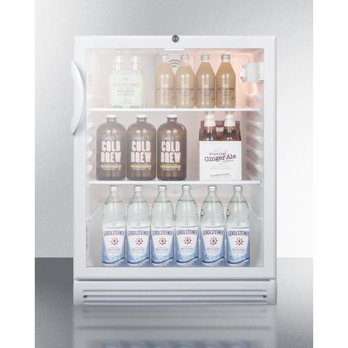 SCR600GLADA Refrigerator Full