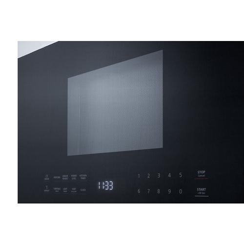 MHOTR24SS Microwave Detail