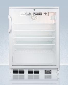SCR600GLBINZ Refrigerator Front