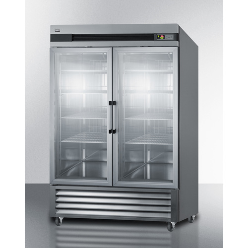 SCR49SSG Refrigerator Angle