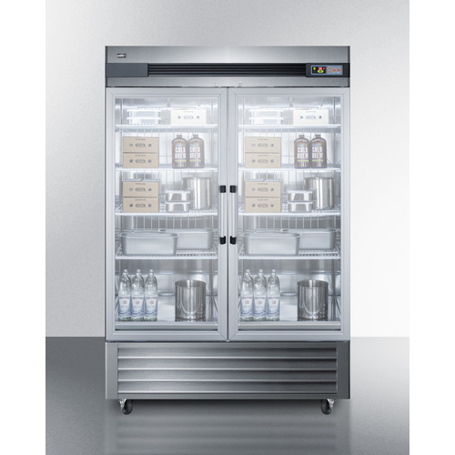 SCR49SSG Refrigerator Full