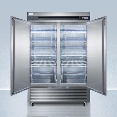 AFS49ML Freezer Open
