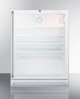 SCR600GLSHADA Refrigerator Front