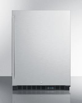 SCR610BLSDCSS Refrigerator Front