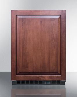 SCR610BLSDIF Refrigerator Front