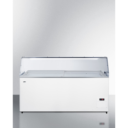 NOVA53PDC Freezer Front