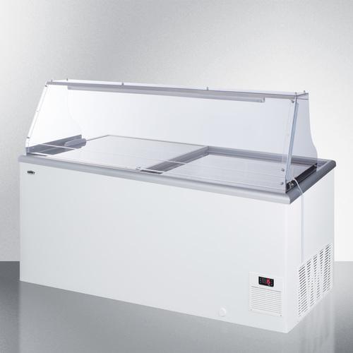NOVA53PDC Freezer Angle