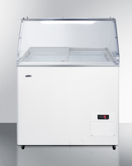 NOVA22PDC Freezer Front
