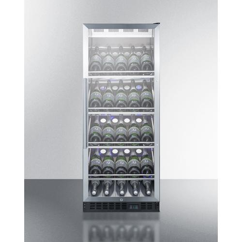 SCR1156CHCSS Wine Cellar Full