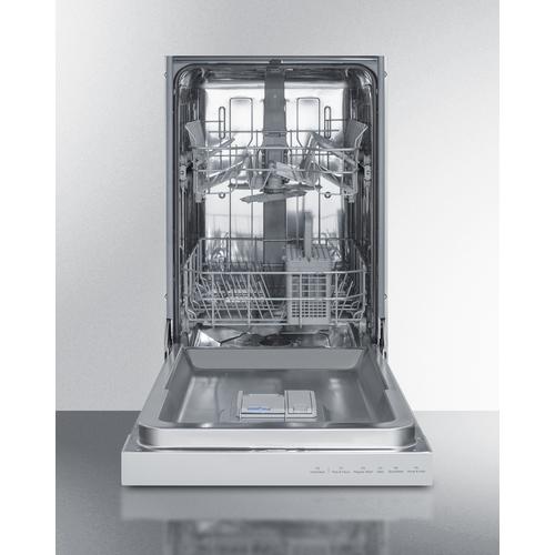 DW18SS4 Dishwasher Open