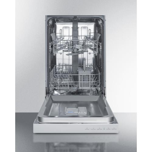 DW18SS31ADA Dishwasher Open