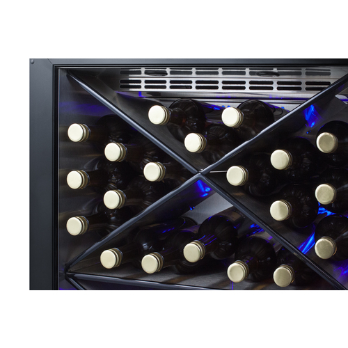 SCR610BLX Wine Cellar Detail