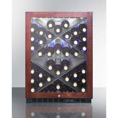 SCR610BLXPNR Wine Cellar Full