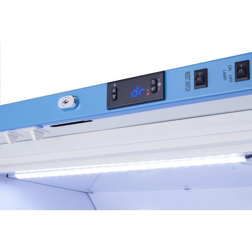 Refrigerator digital controls