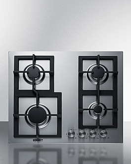 GCJ4SS Gas Cooktop Front
