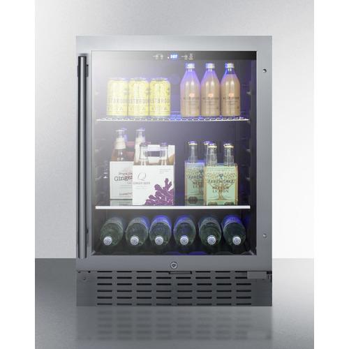 SCR2466BCSS Refrigerator Full