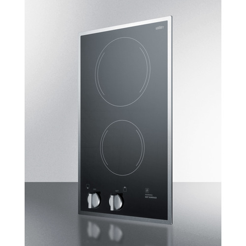 CR2B22ST Electric Cooktop Angle