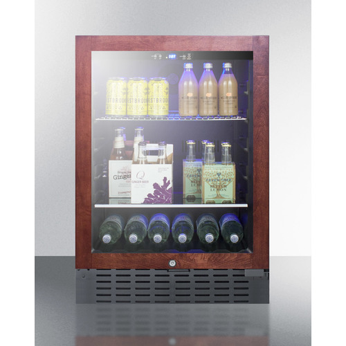 SCR2466BPNR Refrigerator Full