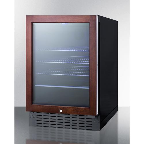 SCR2466BPNR Refrigerator Angle