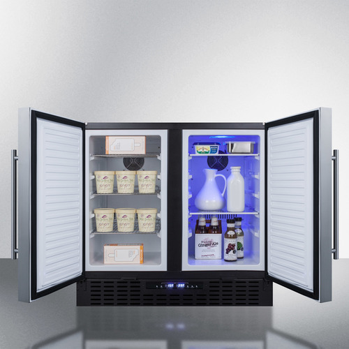 FFRF36 Refrigerator Freezer Full