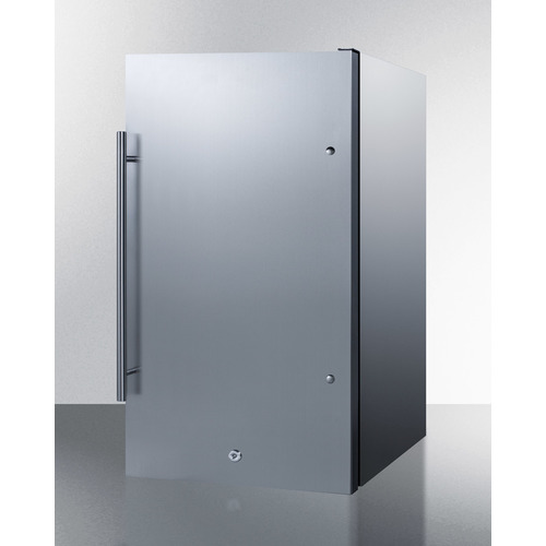 FF195CSS Refrigerator Angle
