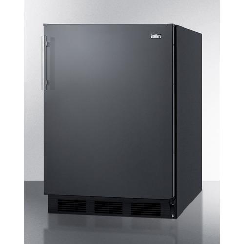 CT663BK Refrigerator Freezer Angle