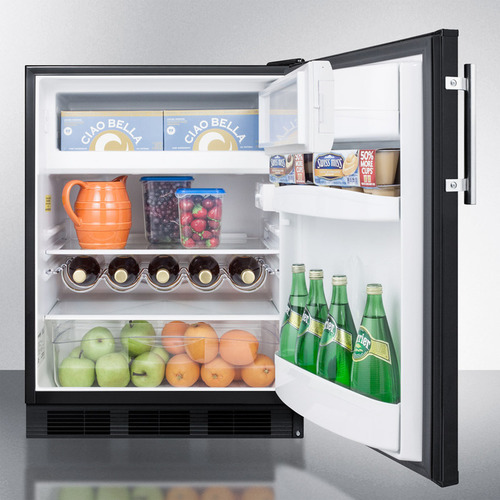 CT663BK Refrigerator Freezer Full