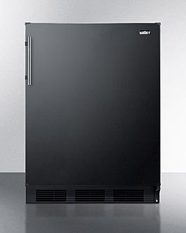 CT663BKBI Refrigerator Freezer Front