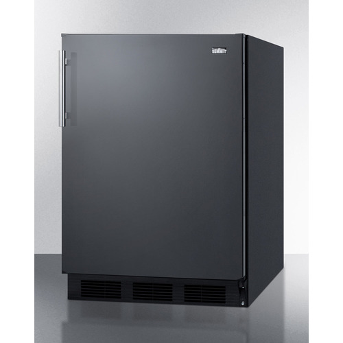 CT663BKBI Refrigerator Freezer Angle