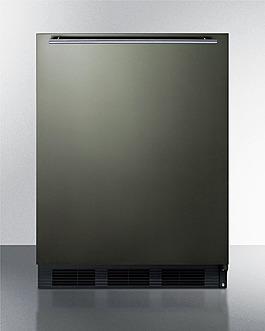CT663BKBIKSHH Refrigerator Freezer Front
