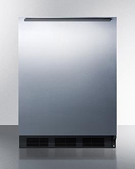 CT663BKBISSHH Refrigerator Freezer Front