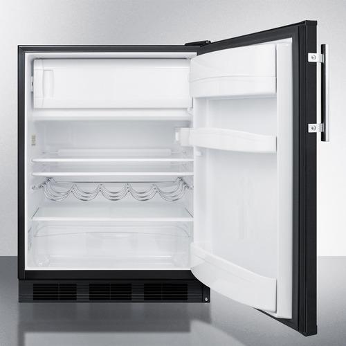 CT663BKBIADA Refrigerator Freezer Open