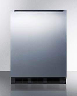 CT663BKBISSHHADA Refrigerator Freezer Front