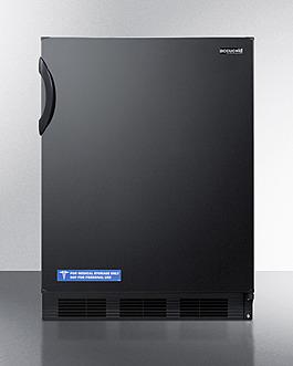 AL652BK Refrigerator Freezer Front