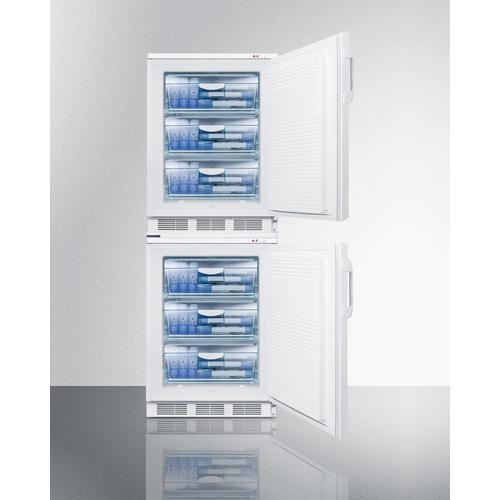 VT65MLSTACK Freezer Full