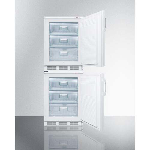 VT65MLSTACK Freezer Open