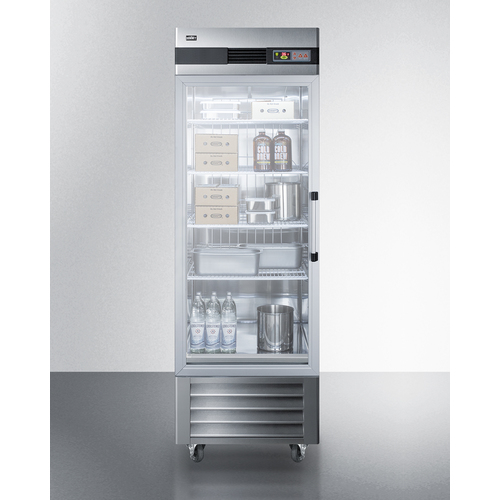 SCR23SSGLH Refrigerator Full
