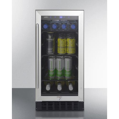 ALBV15CSS Refrigerator Full