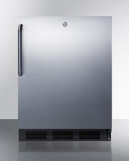 FF7LBLKCSS Refrigerator Front