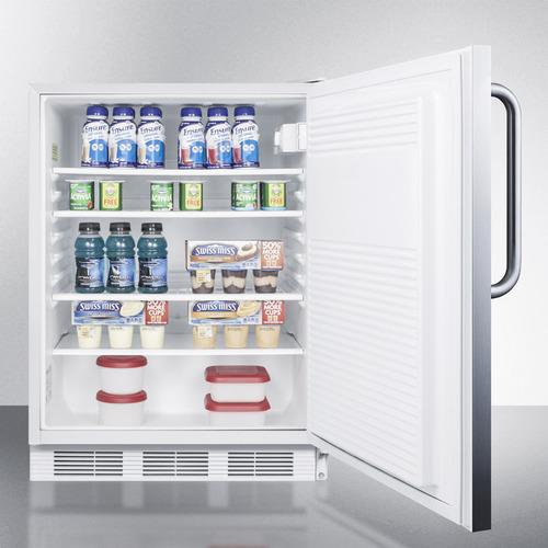 FF7LWCSSADA Refrigerator Full